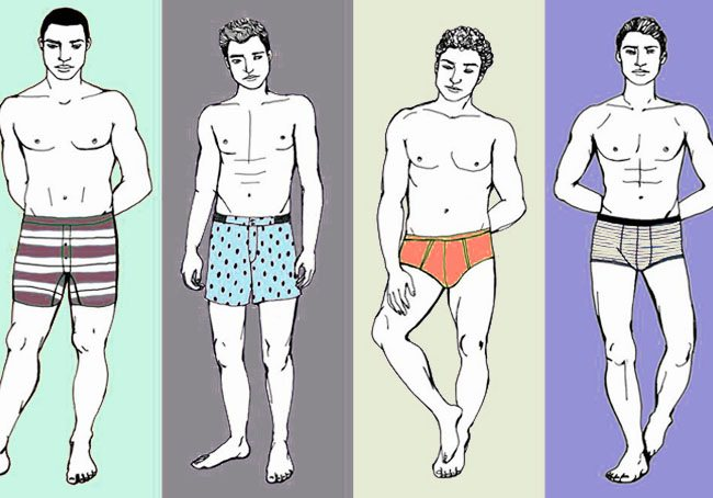 Как выбрать мужские трусы по модели и размеру