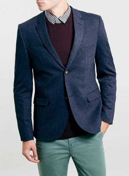Пиджак с двумя пуговицами