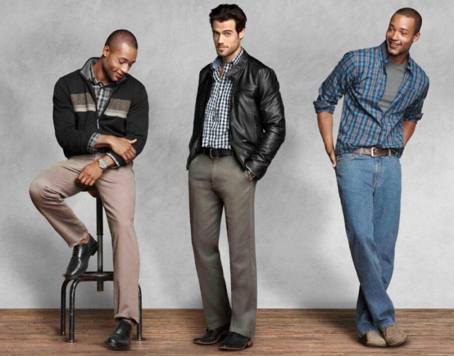 Сочетания цвета в одежде мужчин
