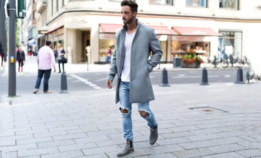 Как сочетать мужские джинсы с обувью