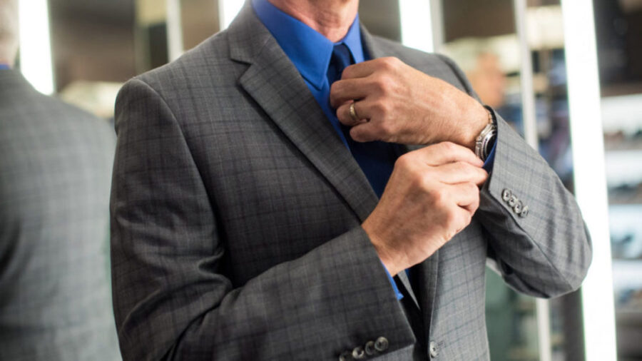 Правила ношения галстука