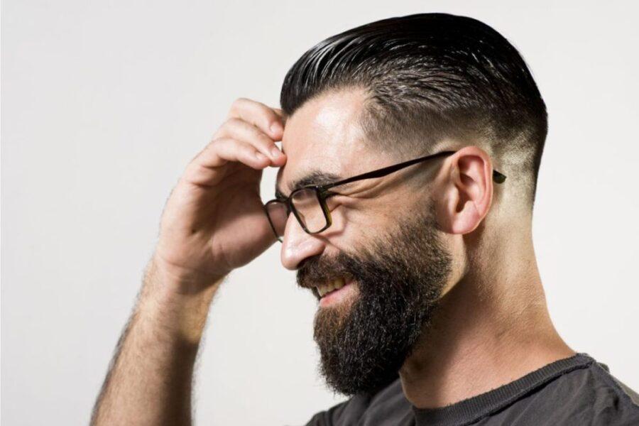 Мужские стрижки с бородой.