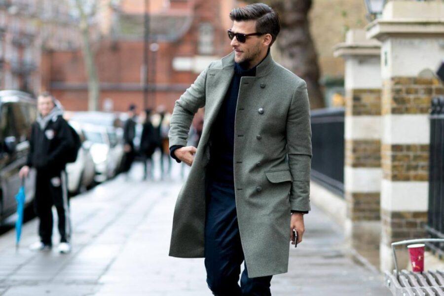 С чем носить пальто мужчине