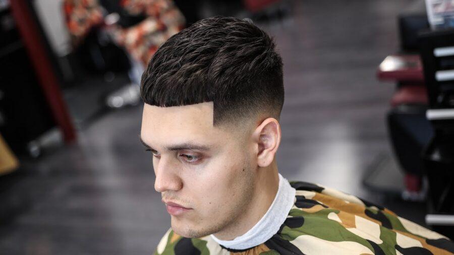 Популярные мужские стрижки и прически для жестких волос