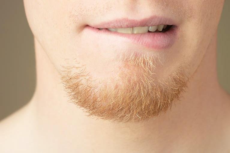 первый раз побриться