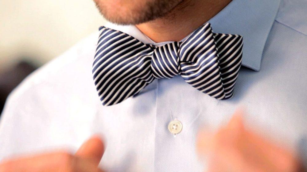 Как завязать галстук бабочку. Инструкция и видео