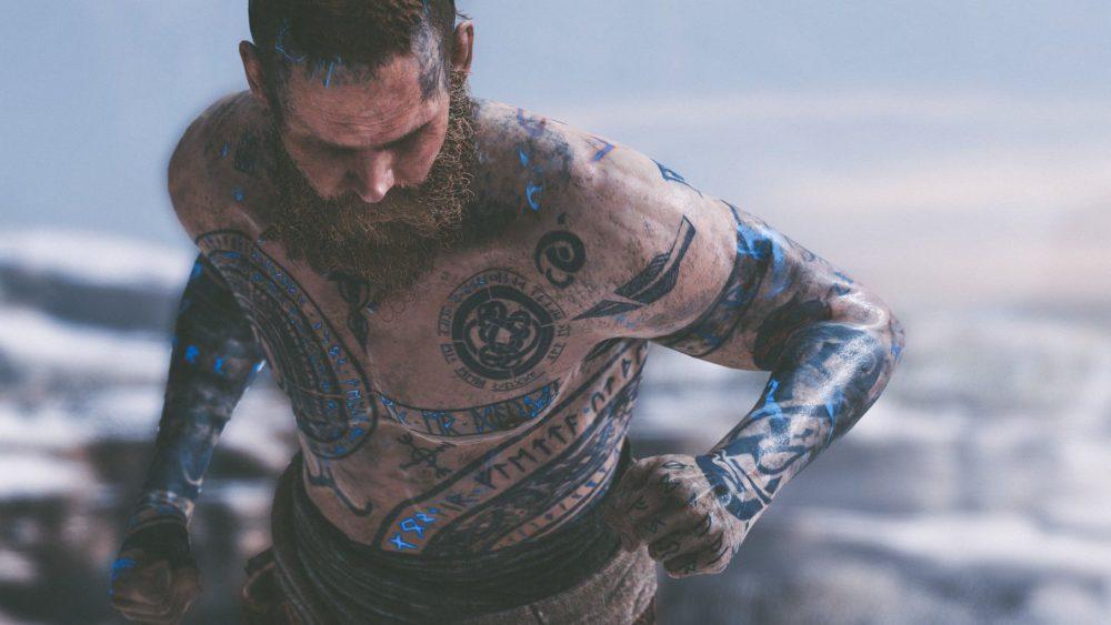 Скандинавские татуировки для мужчин