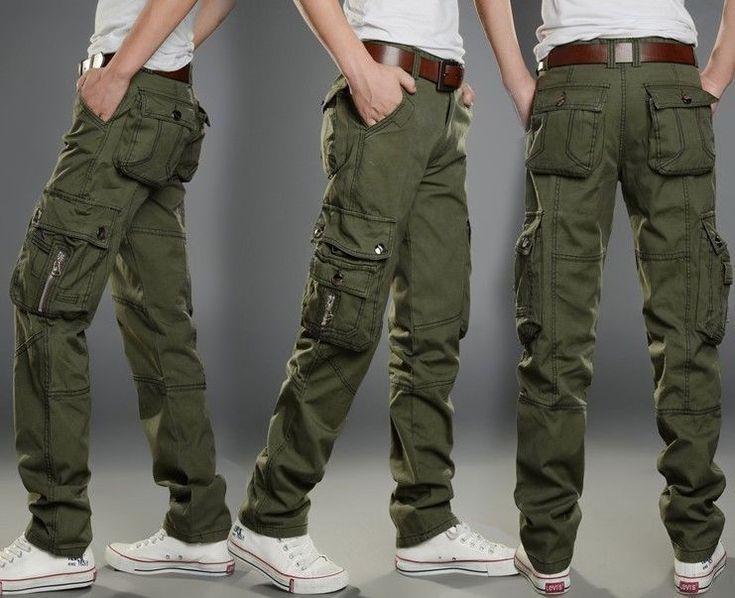 брюки карго для мужчин
