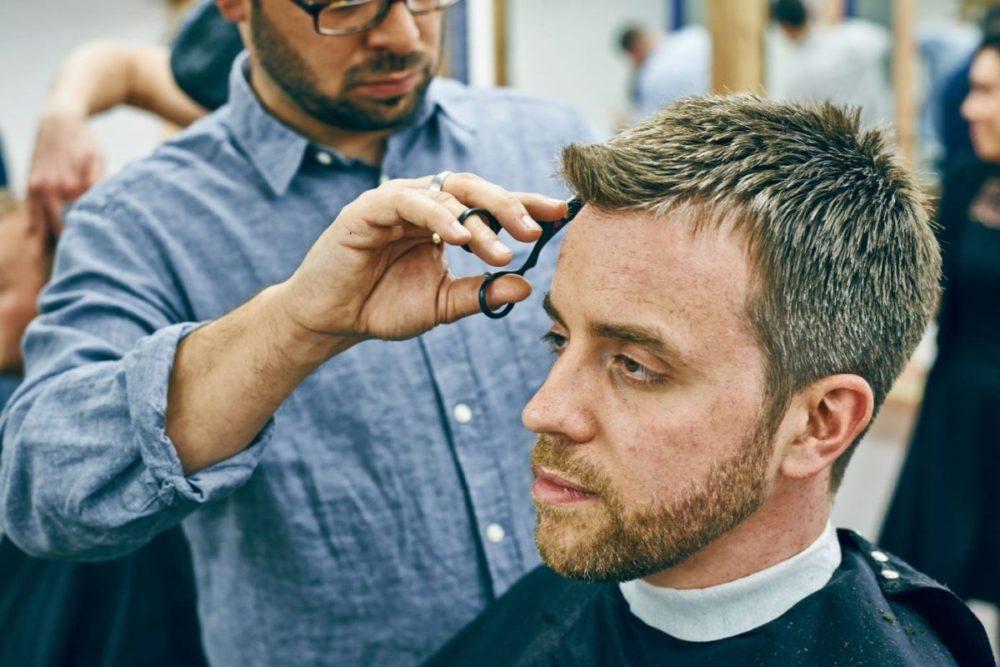 Мужские стрижки для тонких волос