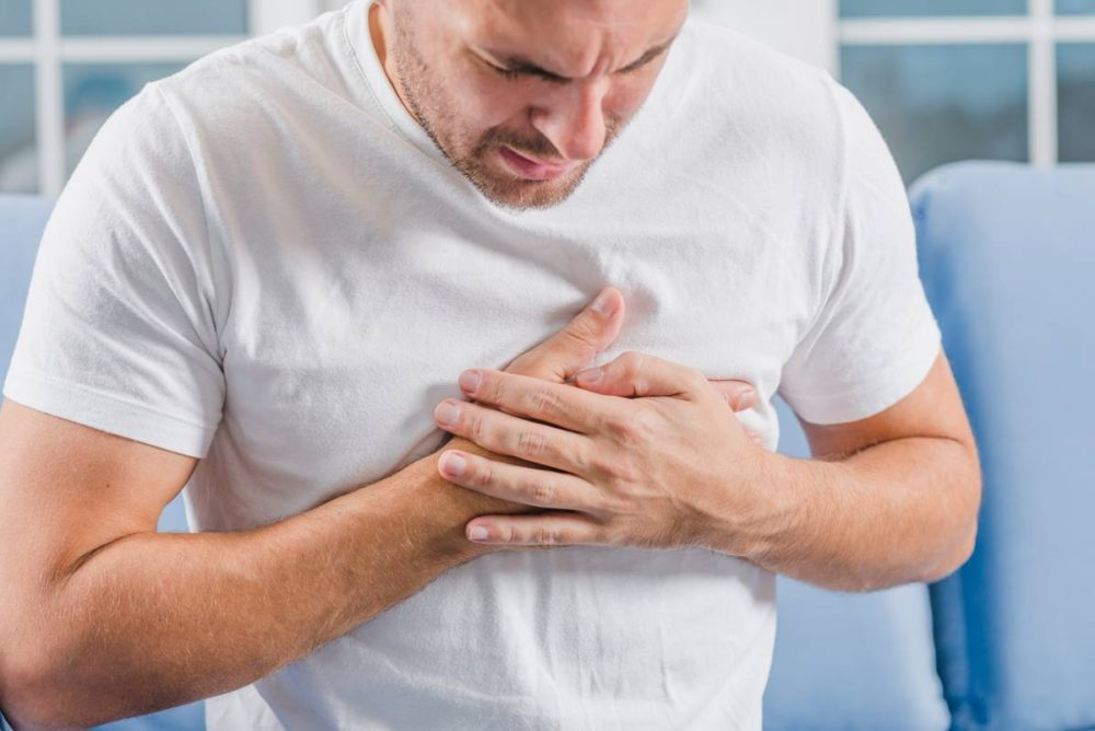 Причины возникновения боли в груди у мужчины