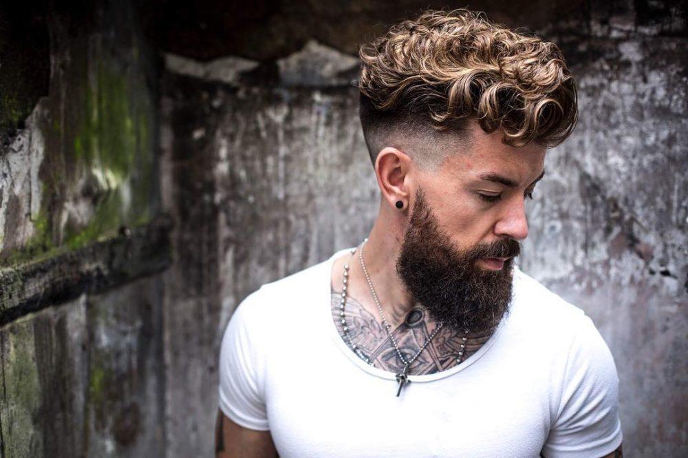Мужские стрижки для кудрявых волос