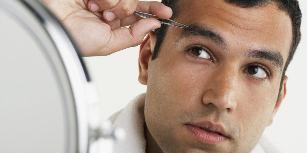 Сросшиеся брови у мужчин. Как и с помощью чего удалить волосы