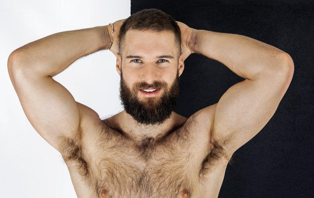 бритье подмышек у мужчин