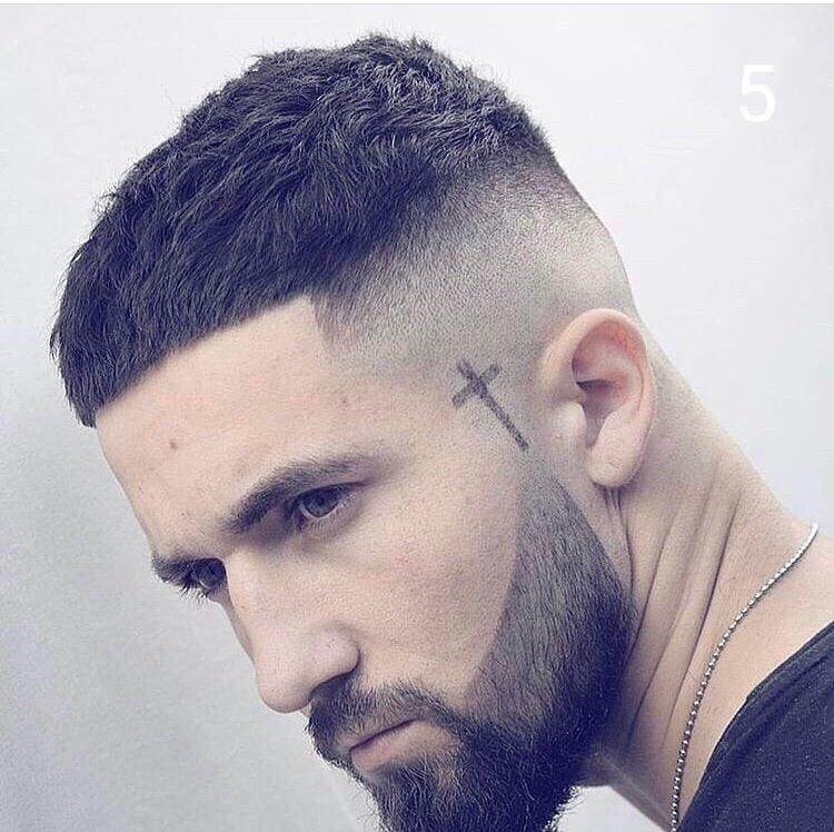 стрижка волос мужская
