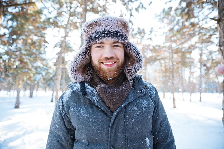 Как ухаживать мужчине зимой за кожей лица