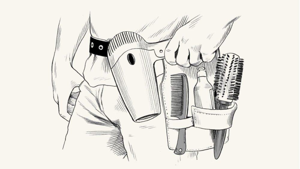 Супер-краткое руководство для мужчин, как высушить волосы феном