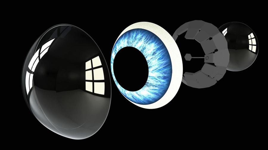 Контактные линзы с микро-дисплеем для дополнительных возможностей от Mojo Vision