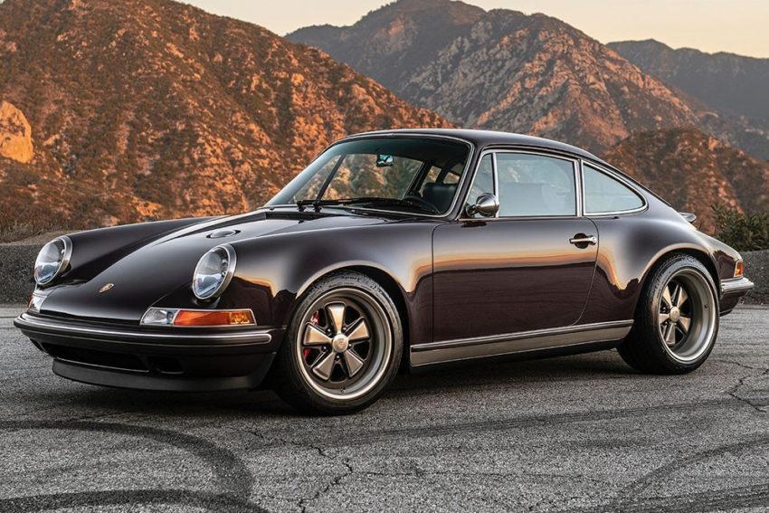 """Углеродный Singer """"Anglet Commission"""" на базе классического Porsche 911"""