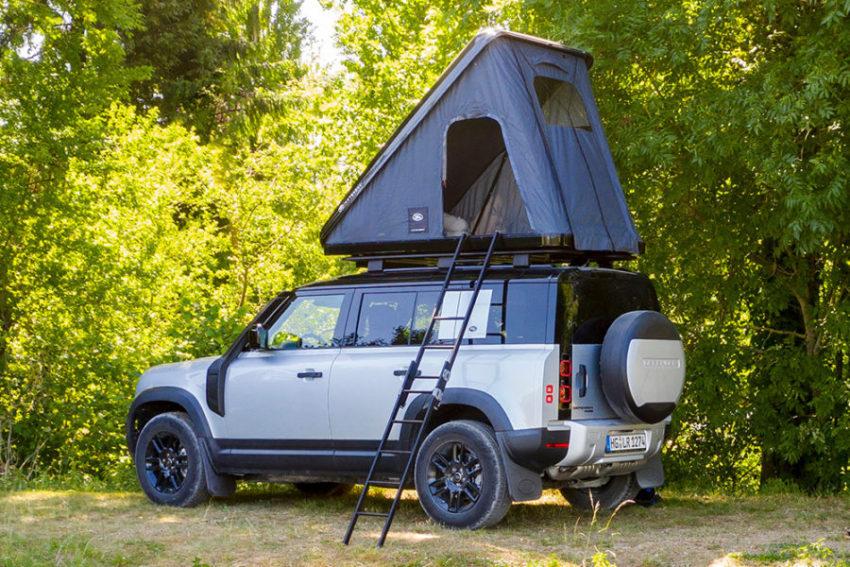 Палатка на крыше Land Rover Defender 2020 от Autohome