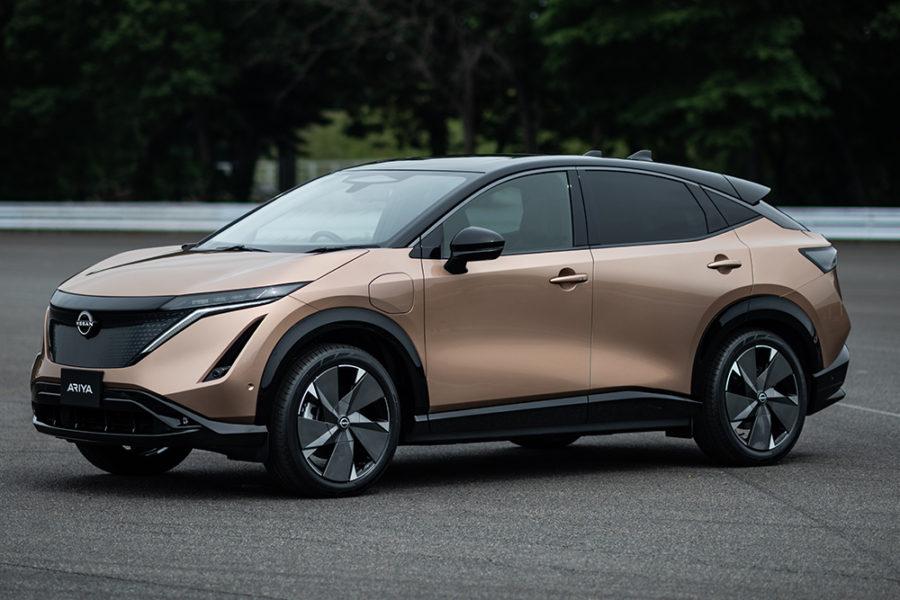 Nissan Ariya - первый полностью электрический внедорожник бренда