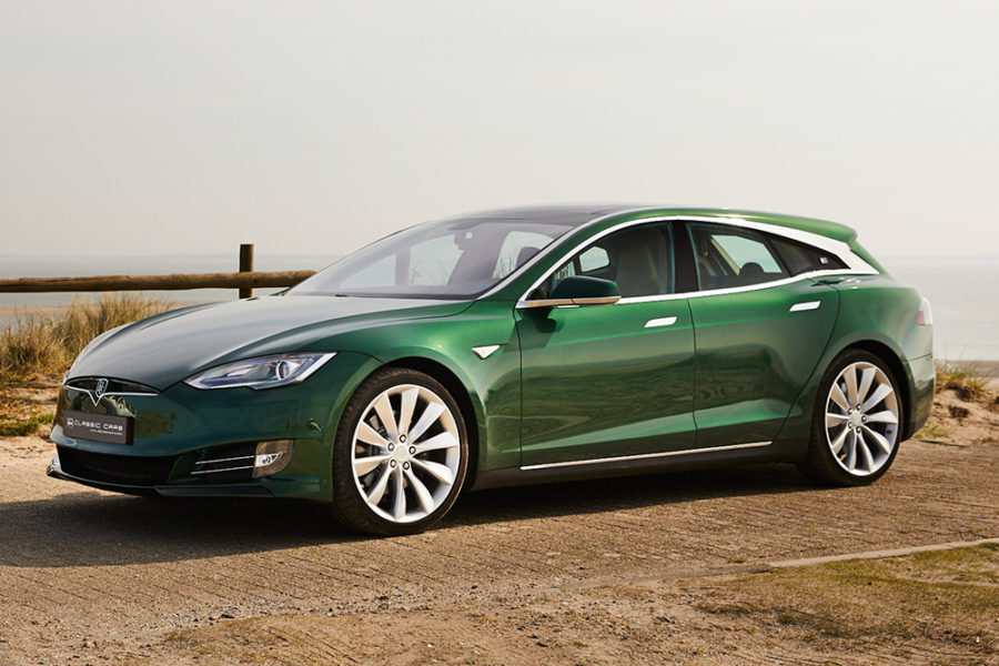 Tesla Model S в кузове Shooting Brake от RemetzCar