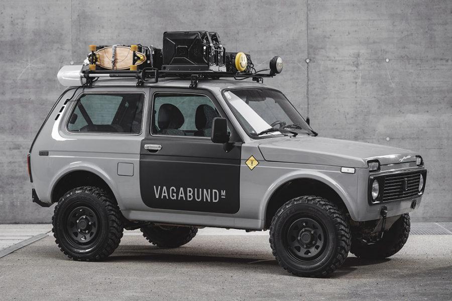 Lada Niva Custom 4 × 4 от австрийского бренда Vagabund Moto