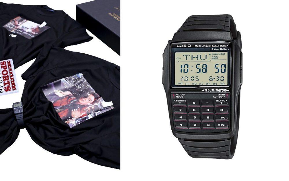 Часы с калькулятором Throwback x Casio Vintage отсылка к 80-м