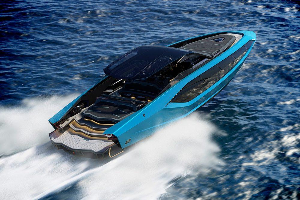 Быстрая яхта Lamborghini 63 от Tecnomar