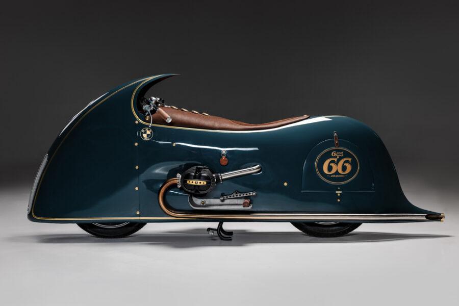 Kingston завершает свою трилогию BMW в стиле ар-деко c мотоциклом Good Ghost