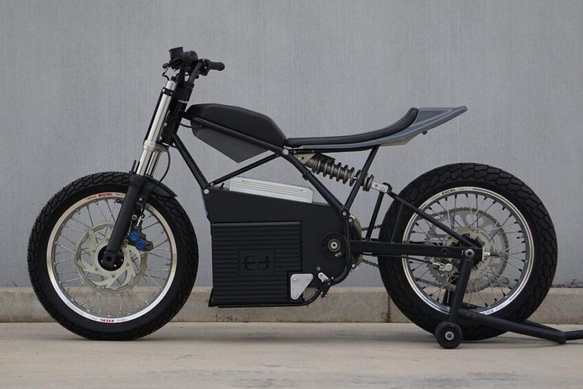 Электрический гоночный мотоцикл Concept Z от студии Ed Motorcycles