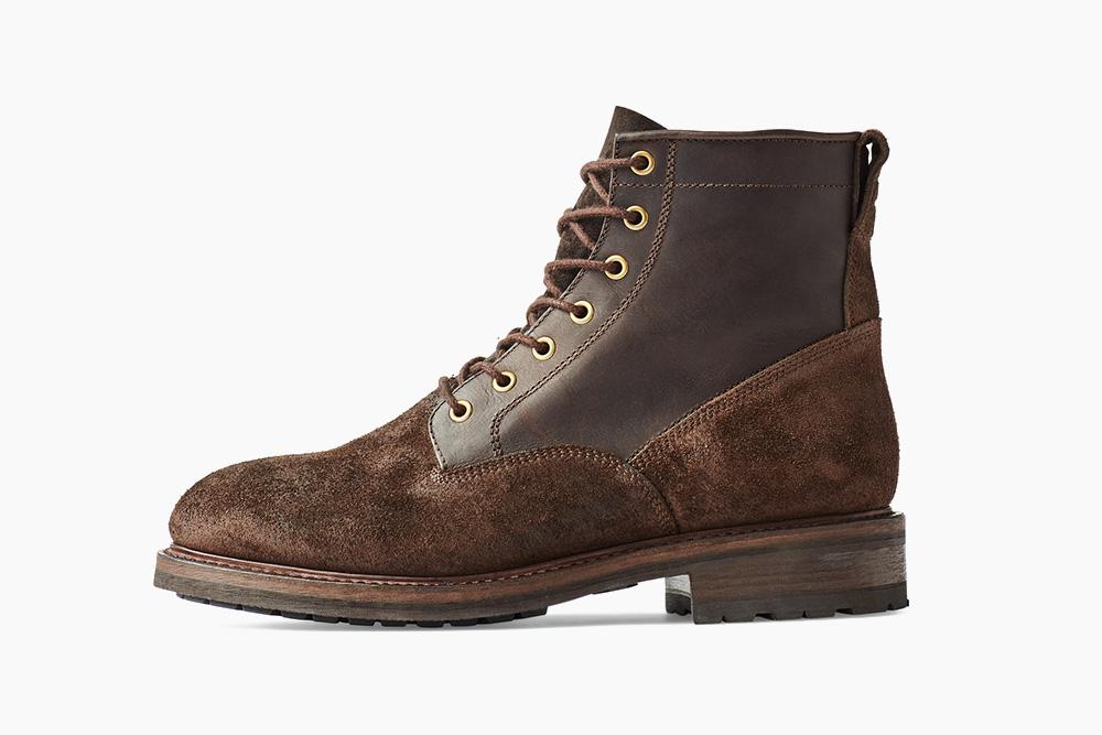 Filson представляет красивые кожаные ботинки Heritage в военном стиле