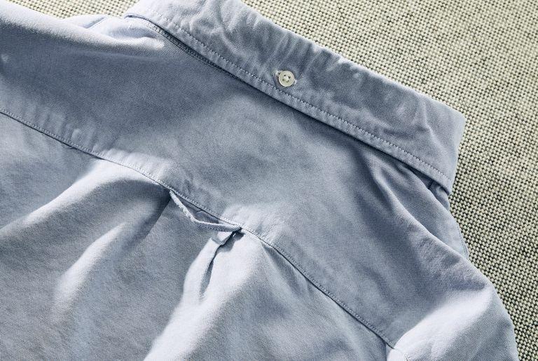 Вы когда-нибудь задумывались, почему на спине вашей рубашки с пуговицами петля?