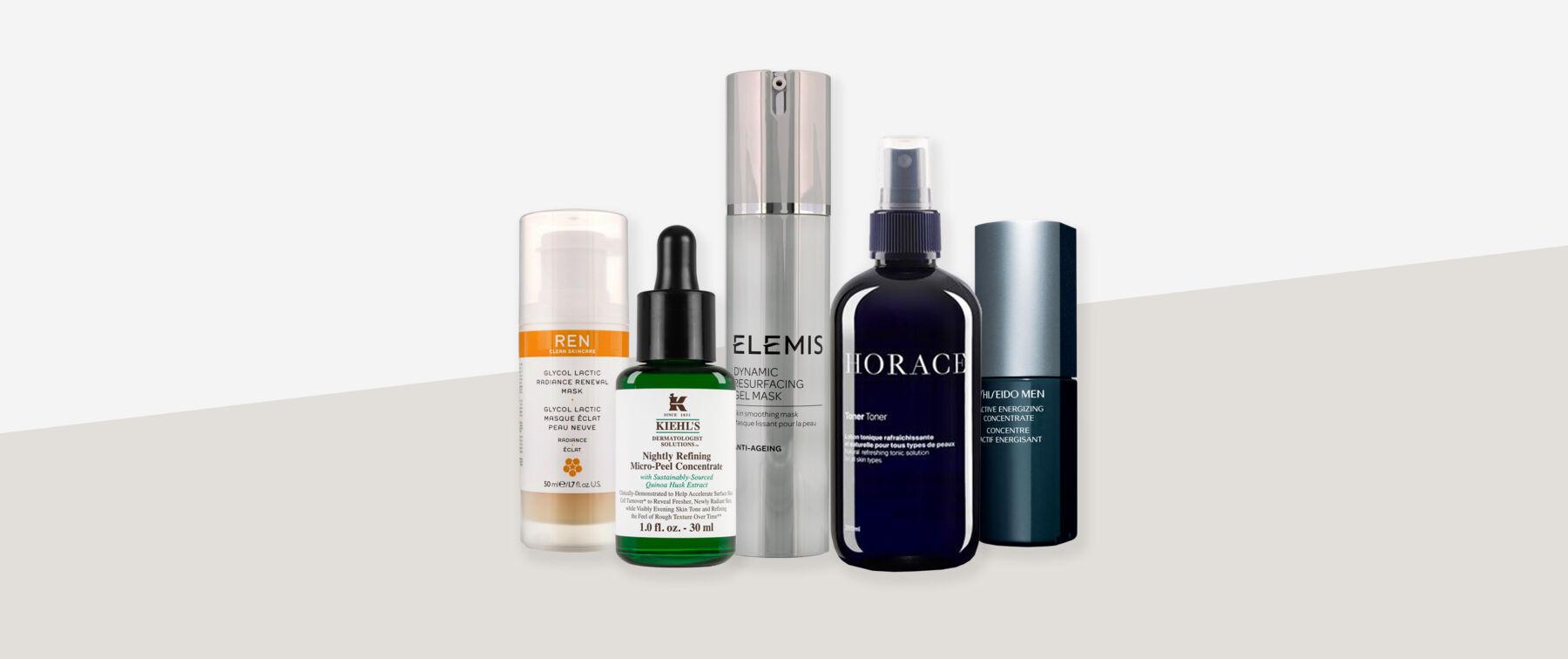 Химические эксфолианты - самая популярная тенденция ухода за мужской кожей