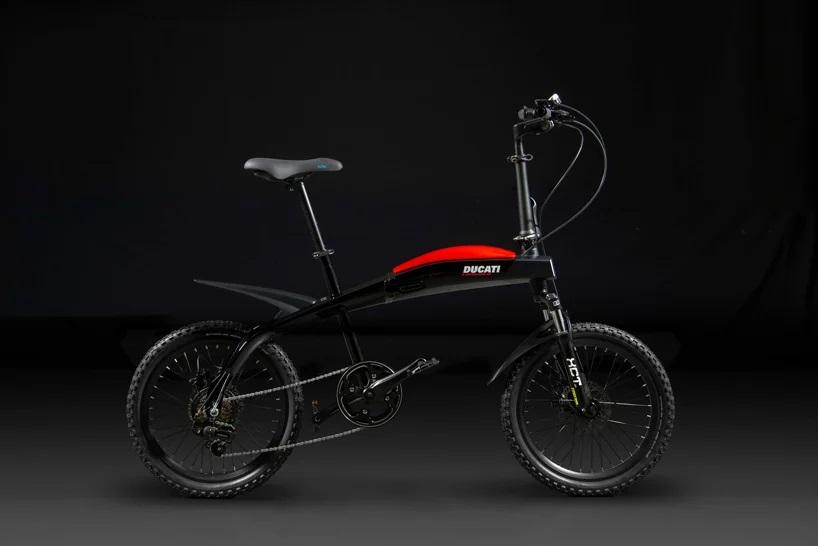 Ducati представляет три складных электровелосипеда со стильным дизайном и максимальным комфортом