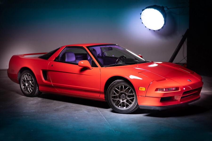 Аукционная редкая Acura NSX Zanardi # 51, выпущенная в 1999 году