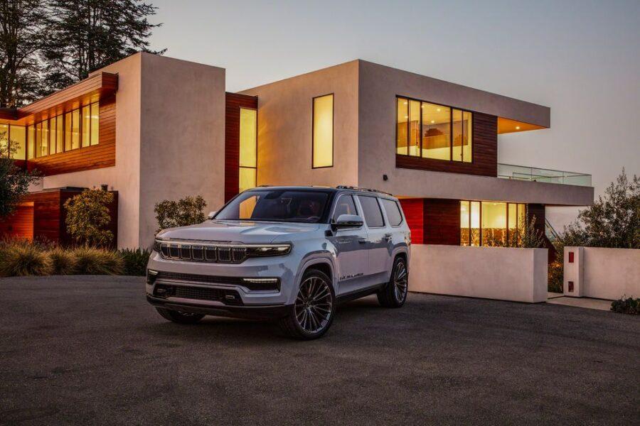 Новый Jeep Grand Wagoneer - полноразмерный роскошный внедорожник
