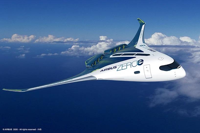 Концепт Airbus ZEROe - три самолета на водородном топливе с нулевым уровнем выбросов