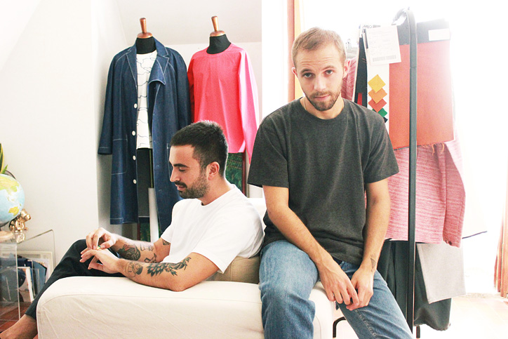Компания Sunnei была официально основана в 2015 году Лорисом Мессиной и Симоне Риццо