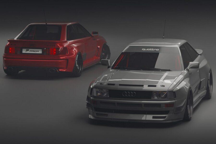 Audi Coupé B3 от Prior Design вызывает ностальгию по ралли группы 80-х