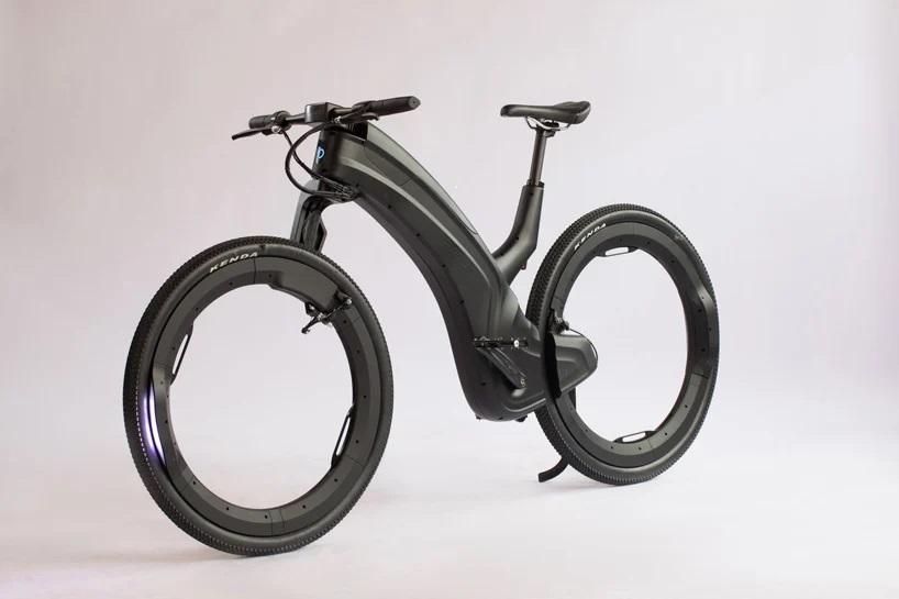 Электровелосипед Reevo Hubless с концепцией будущего