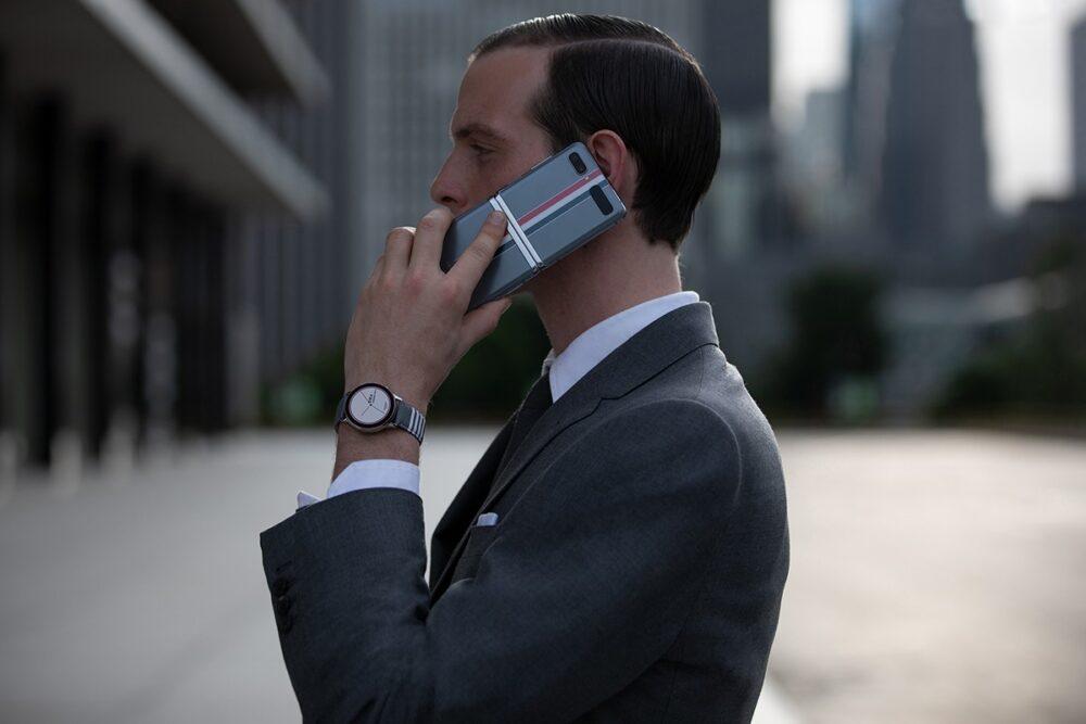 Thom Browne добавил свой дизайн в Samsung Galaxy Z, о котором вы не знали