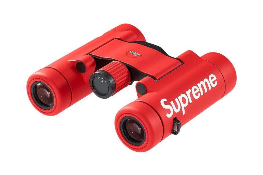 Компания Supreme объединилась с Leica для создания эксклюзивных биноклей Ultravid 8x20