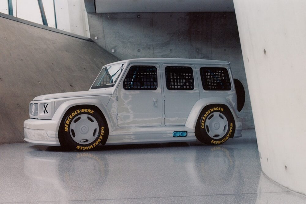 Вирджил Абло устанавливает новый курс в сотрудничестве с Mercedes-Benz над «Project Geländewagen»