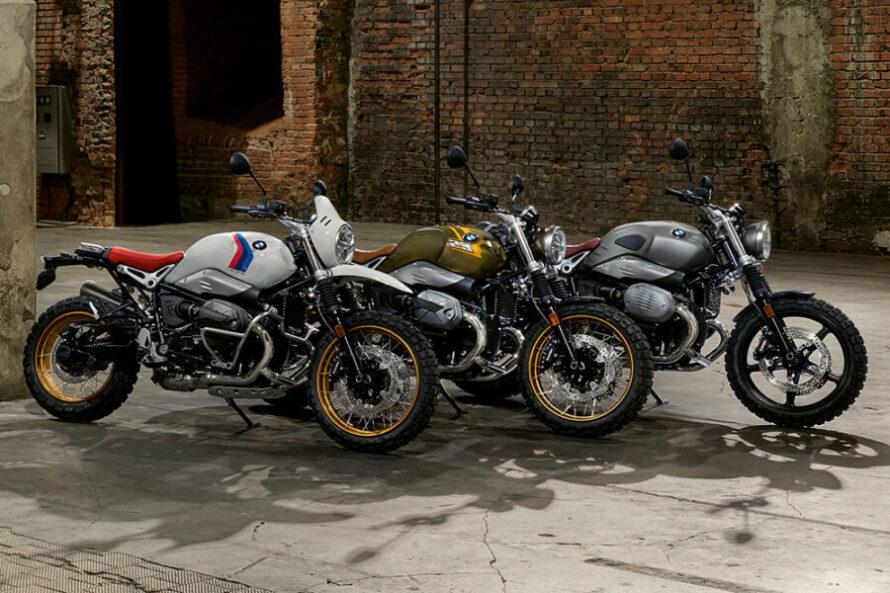BMW обновляет свою линейку R nineT 2021