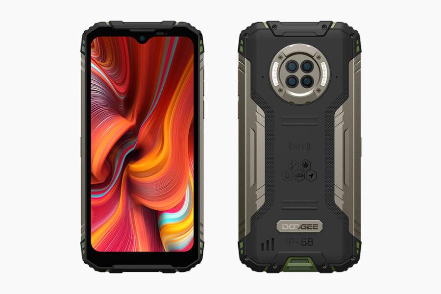 Сверхпрочный смартфон DOOGEE S96 Pro с функцией ночного видения