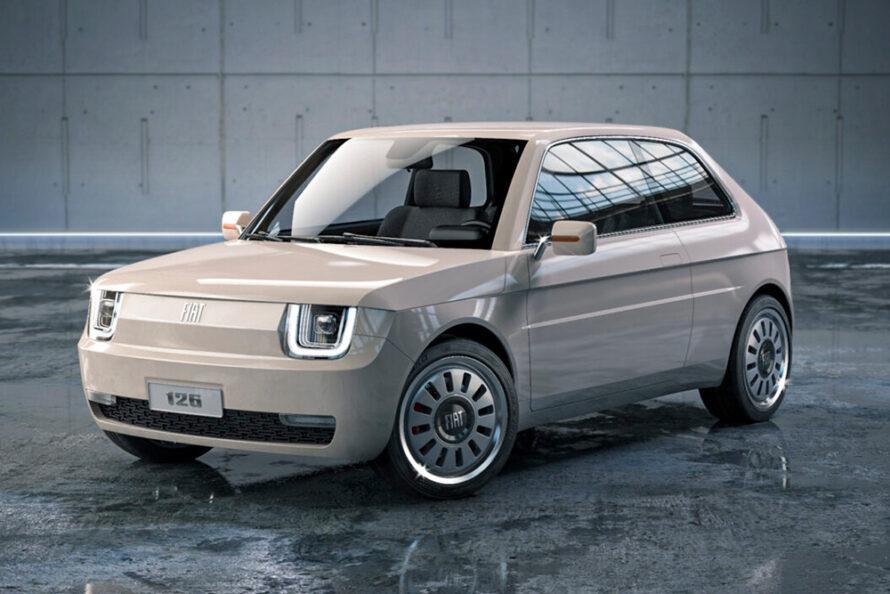 MA-DE Studio создает электрический концепт Vision на базе легендарного Fiat 126