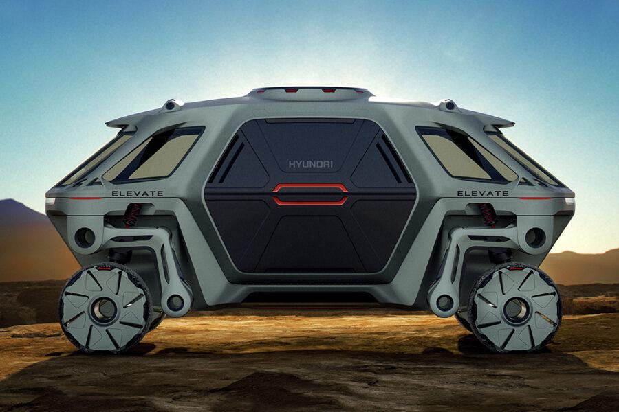 Hyundai хочет построить трансформирующийся концепт-кар Elevate