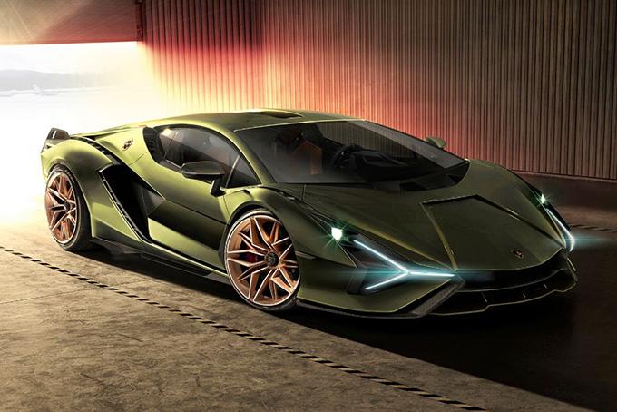 Lamborghini Sián FKP 37 (807,4 л.с.)