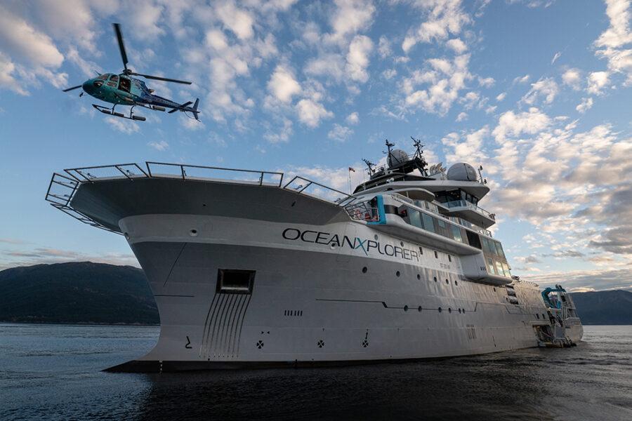 Джеймс Кэмерон стал соавтором исследовательского корабля «OceanXplorer»