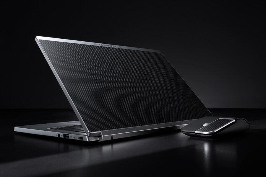 Porsche и Acer создали ноутбук в магниевом корпусе с углеродными вставками